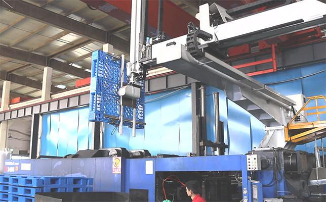 塑料托盘生产过程