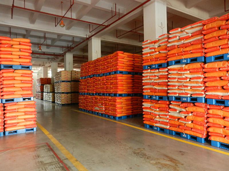 塑料托盘应用于粮油仓储