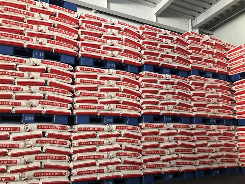 粮食仓库塑料托盘使用案例